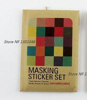 Wholesale Deco Labels - Wholesale- 2016 27 Sheets Masking Tape Labelling Tag Stickers Envelope Set Deco Sticker Set