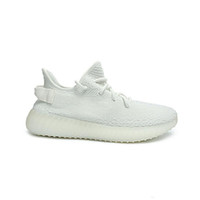 "Wholesale Golf Rubber - 2017 Boost 350 V2 ""Cream White"" SPLY-350 High Quality Cheap Discount Wholesale Kanye West 350 Boost Men's Trainers Sports Shoes With Box"