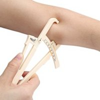Wholesale personal fitness - Measure Fitness Personal Body Fat Tester Calipers with Manual Body Fat Charts Fitness Measure Skinfold Body Fat Caliper Measure-wholesale