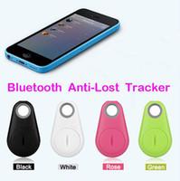 bluetooth anti-diebstahl-alarm großhandel-Anti-verlorene Alarm Tracker Gerät Kind Tracer iTag intelligente Schlüssel Finder Mini Wireless Phone Bluetooth Anti-Diebstahl-GPS für IOS Android Smartphone