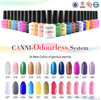 organic nails products - CANNI brand new color high quality product soak off odorless organic uv gel nail polish varnish gel lacquer