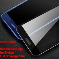 Wholesale Nova Pro - For Iphone X 6S 7 Plus Carbon Fibre 3D Soft Edge Tempered Glass Screen Protector For Huawei Honor 8 Lite Nova 2s Plus Mate 10 Pro