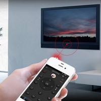 ipad mini fernbedienung großhandel-Neuer Großhandel 1pcs Silber für iphone / ipad / Berühren Tragbare Mini-Tasche für Handys Smart IR-Fernbedienung für Klimaanlage TV