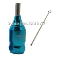 Wholesale BIG WASP Professional High Quality Tattoo Machine Adjustable Cartridge Grip quot Sky Blue Supply HG D