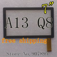 """Wholesale Q88 Winner - Wholesale-MINIMUM $3 7inch 7"""" capacitive panel touch screen digitizer glass for All Winner A13 Q8 Q88 Tablet PC MID BSR028-V3 KDX CZY6075A"""