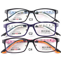 Wholesale Kids Glasses Eyewear Frames Children Glasses Eyeglasses Spectacles TR90 Material Rectangle Durable Cute Plano Demo Lense Optical Vision Care