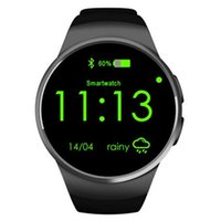 outdoor camera gear - Hot sale NFC Smart Watch KW18 IPS Full Round Screen support SIM TF Card Heart Rate Monitoring For Apple Samsung Gear S2 PK gt08
