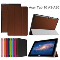 Bulk Verkauf Ultra Slim Tasche für Acer Iconia A3-A30 Smart Cover für Acer Iconia Tab 10 A3-A30 10,1 Zoll Tablet-Hülle mit Auto-Sleep-Funktion
