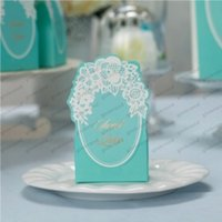 2017 HOT Wedding Favors Caixas Caixas de presente Cake Boxes Chic