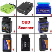 ELM327 V2.1 OBD2 CAN-BUS Bluetooth oder WIFI Auto Auto-diagnoseschnittstelle Scanner Scan Tools Codeleser, freies Verschiffen