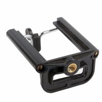 Wholesale Mini Camera Clamp - Lightweight Mini Clamp Camera Adapter Tripod Mount Bracke Clip Phone Holder Stand Selfie Clips For Tripod Monopod With 1~4 inch