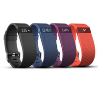 Wholesale Led Message Digital Display - fitbit charge Sports rectangle led Digital Display touch screen watches Rubber belt silicone bracelets Wrist watches