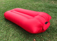 Wholesale Inflatable Lounger Air Sofa Outdoor Air Bed Sleep Bag and Couch Ideal for Camping Beach Parties Travelling Hiking and Pool