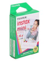 Wholesale sheets Fujifilm photographic paper Japan Instax White Film For Mini s and s Instant Camer