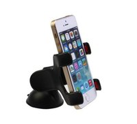 Wholesale Double Car Dvr Gps - Double clip phone holder for car universal mobile cell phone mount car holder stand for iphone 6 6s 7 plus galaxy S6 Car DVR GPS