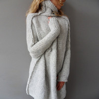 Wholesale Korean Women S Knitted Sweater - Wholesale-Autumn winter women sweaters and pullovers korean style long sleeve casual crop sweater slim solid knitted jumpers sweter mujer