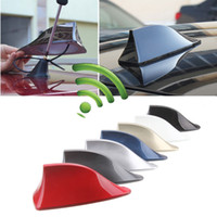 Wholesale Car Radio Shark Fin Car Shark Antenna Signal Newest Design High Quality Universal For All Cars Aerials Antenna Car Styling