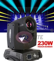 СВОБОДНАЯ ПЕРЕВОЗКА ГРУЗА hotsale 7R пучок moving головной свет 230w Osram 7R Beam Zoom Moving head Light dmx 16 / 20ch 16 Prism DMX DJ Show Party
