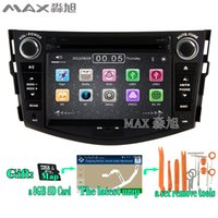 Wholesale Toyota Stereo For Rav4 - 2din Car DVD Player for For Toyota RAV4 2007 2008 2009 2010 2011 2012 with Radio RDS BT swc GPS map 3G 1080P