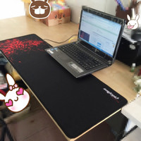 Wholesale Mouse Mantis - Wholesale- Large Red Rubber Razer Goliathus Mantis Speed Gaming Mouse Pad Mats Size XL 800*300MM