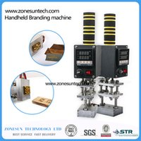 Wholesale Leather Embossing Machines - Wholesale- 5*7cm Hot foil Stamping Machine, leather, cake branding machine, Wood embossing machine, electric soldering iron(0-400 degree)