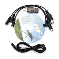 Wholesale Usb Cable For Phoenix Flight - Wholesale-22 in 1 RC Flight Simulator Cable USB Dongle for G7   G6 G5.5 G5 Phoenix 5.0 For Helicopter Free Shipping