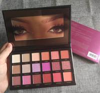 Wholesale Cosmetic Pallete - New Beauty DESERT DUSK Eyeshadow Pallete Shimmer Matte Eye shadow 18 colors Pro Eyes Makeup Cosmetics