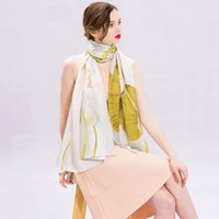 Wholesale Hangzhou Scarf - Silk scarf, spring silk, long cheongsam shawl, Hangzhou silk scarf in autumn and winter Fashion accessories
