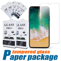 Wholesale Retail Packaging For Screen Guard - Tempered Glass 9H 2.5D Premium Screen Protector For Iphone X 8 7 Plus 6S 5 0.26mm Protective Film Guard For Samsung S8 With Retail Package