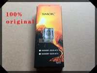 Wholesale Core Engines - Original SMOK TFV8 Baby Coil Head Replacment T8 X4 T6 Q2 M2 Beast Coil Engine Core for H PRIV Mini 50w Kit