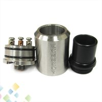 Wholesale Air Pin - Newest Kennedy RDA Stainless Steel Atomizer Dual Direct Bottom Air Holes Rebuildable Kennedy Atomizer with Copper Pin fit all Mechanical Mod