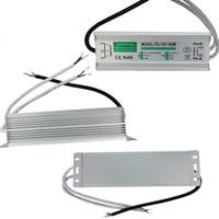 45w netzteil großhandel-DC12V Ac Adapter IP65 Netzteil AC110-240V imput DC12V ausgang 10 Watt 20 Watt 30 Watt 45 Watt 60 Watt 80 Watt 100 Watt 150 Watt 200 Watt wasserdichte led-transformatoren