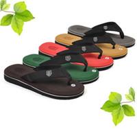 Wholesale Wholesale Per Pair - Fashion David 2017 Men Sandal Slippers Man's Flip Beach Flops Beckham Leisure Fashion Shoes Hot Sale 1 Pair Per Lot