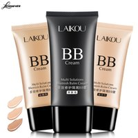 Wholesale Bb Liquid Cream - New Brand Korean BB Cream Face Foundation Makeup Skin Care Make Up Concealer Moisturizing Liquid Whiten Cosmetics 50ml