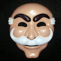 Wholesale Hacker Masks - Wholesale-Mr. Robot Fsociety Mask White Anonymous Team Evil Hacker Group V for Vague Recollection Anonymous Corp in Entertainment TV show