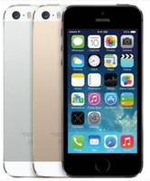 Wholesale apple iphone 5s online - Refurbished Original Apple iPhone S Unlocked Mobile Phone GB GB GB Unlocked Phone iOS HD A7 MP