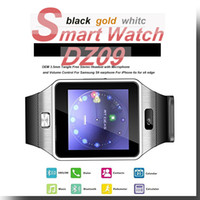 Wholesale Gps Watch Tracker Cell Phone - 2016 Bluetooth Smart Wrist Watch Phone GSM SIM Card For Apple Samsung IOS Android Cell phone 1.56 inch with retail box