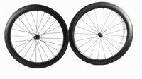 Wholesale 58mm Road Bike - NEW 2017 dimpel wheels 58mm clincher dimple road wheels bicycle wheel bike wheelset dimple wheelset 404 wheels New brakes