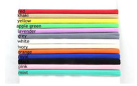 Wholesale Cheap New Babies Accessories - 13 color baby elastic hair circle new no trace candy color child hair band cheap BB knitted hair accessories wholesale 100pcs