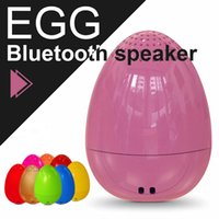 Wholesale Outdoor Camera Audio - EGG Bluetooth Wireless Speaker for Christmas Gifts Mini Music Player Outdoor Speaker TWS Bluetooth Speaker with Remote Camera