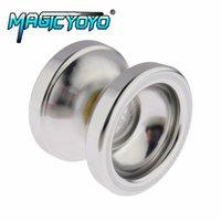 Wholesale T6 Yoyo - MAGICYOYO Aluminum Design Professional Magic YoYo T6 Ball Bearing String Trick Alloy Kids Children Toy Gift
