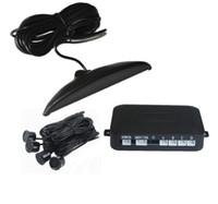Wholesale parking sensor human voice for sale - Group buy Led Parking Sensor With Human Voice Alarm PZ305 PZ311 Digital LED Display Car Crescent Beeper Reversing Radar Probes Sensors Free DHL