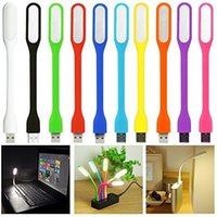 Wholesale powerbank for laptops resale online - Mini USB LED Light Lamp Degree Adjustable Portable Flexible for powerbank PC Laptop Notebook Computer working reading led small light