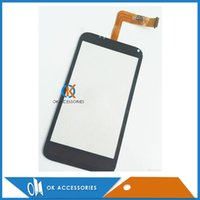 Wholesale Incredible S Touch - Black Color For HTC Incredible S S710e G11 Digitizer Touch Screen Touch Sensor Glass Lens Front Glass Replacement 20pc lot