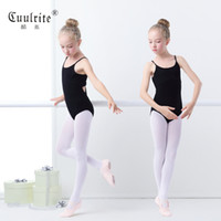 Wholesale Chinese Dress Uniform - Children Condole Dancing Dress Uniforms of The Girls Summer Female Chinese Dance Employs Ballet Gym Suit Cotton Clothing