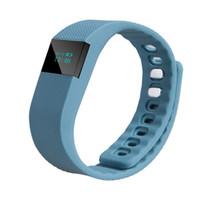 tw64 смарт браслет смотреть оптовых-FITBIT TW64 браслет Smart Band Smartband спортивный браслет Bluetooth браслеты часы фитнес-трекер активности Passometer для IOS Android