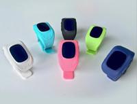teléfonos de banda cuádruple al por mayor-2017 OLED Q50 Kids GPS Tracker Smart Watch Phone SIM Quad Band GSM Safe SOS Call Smartwatch para Android B680