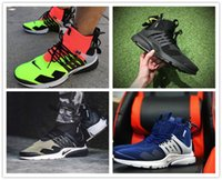 Wholesale Cargos Discount - 2017 Acronym Air Presto Mid Running Shoes,Discount Cheap Sneaker Trainers Sportswear,Black-bamboo Lava olive cargo green Sports Size 40-45