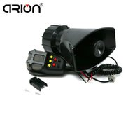 Wholesale Police Car Horn - New 100W 12V for Car Truck Loud Horn 7 Sounds Alarm Siren Police Ambulance Fire With MIC 300db