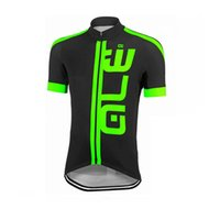 ALE Fluorescence Short Sleeve Cycling Jersey MTB homens Bike Clothing Camisa de verão Bicicleta respirável Sportwear barato china C1305